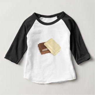 White and brown chocolate baby T-Shirt