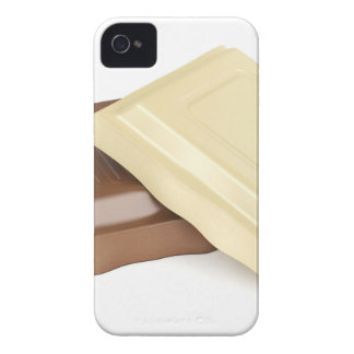 White and brown chocolate iPhone 4 Case-Mate case