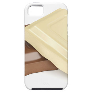 White and brown chocolate iPhone 5 cases