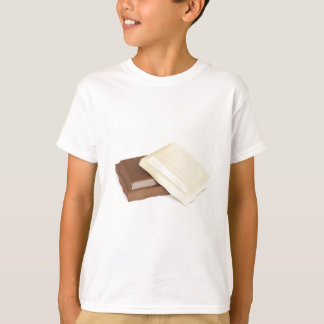 White and brown chocolate T-Shirt