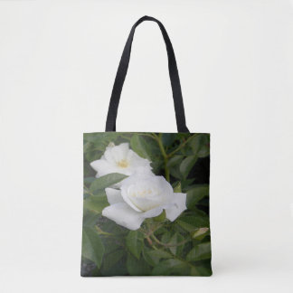 White and delicate... tote bag
