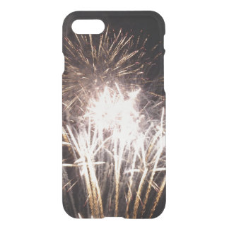 White and Gold Fireworks I Patriotic Celebration iPhone 7 Case