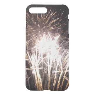 White and Gold Fireworks I Patriotic Celebration iPhone 7 Plus Case