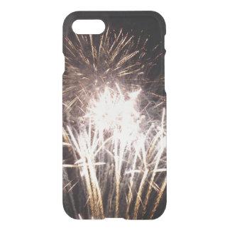 White and Gold Fireworks I Patriotic Celebration iPhone 8/7 Case