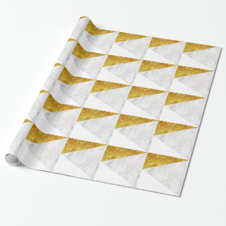 White and Gold Marble