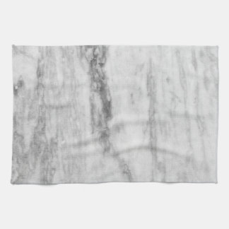 White And Gray Marble Texture Pattern Kitchen Towel