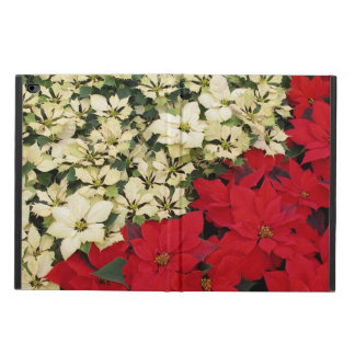 White and Red Poinsettias I Holiday Floral Powis iPad Air 2 Case