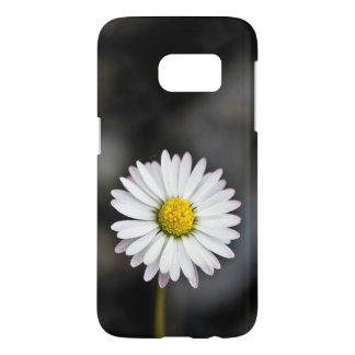 White and Yellow Daisy Samsung Galaxy S7 Case