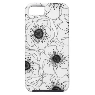 White Anemones iPhone 5 Cases