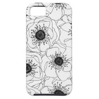 White Anemones iPhone 5 Cover