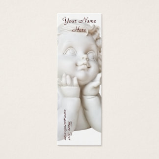 White Angel Mini Business Card
