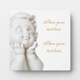 White Angel Plaque