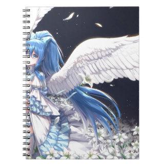 White Angel San Spiral Notebook