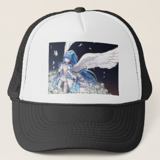 White Angel San Trucker Hat