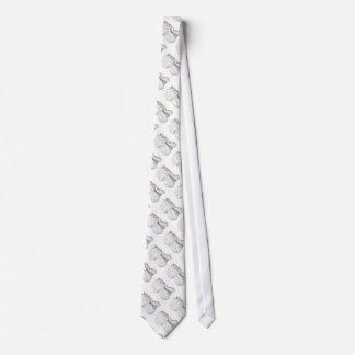 White Angel Tie