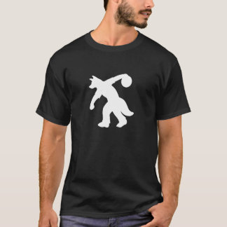 White Anthropomorphic Canine Bowling Shirt 0001