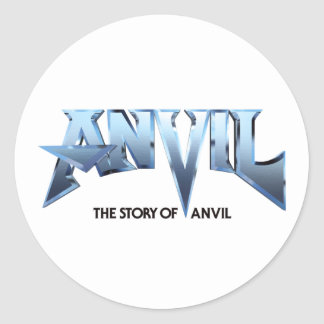 WHITE ANVIL MOVIE LOGO STICKER
