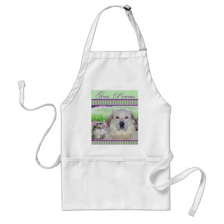 White Apron Great Pyrenees & Buddy