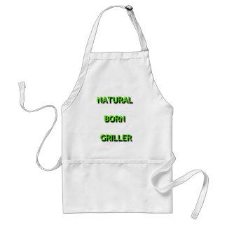 White Apron - Natural Born Griller