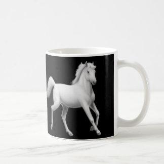White Arabian Horses Mug
