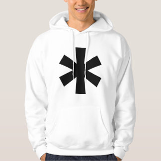 White Asterisk Sweatshirt