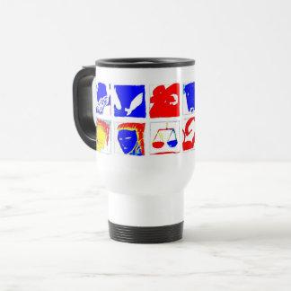 White Astrology Symbols Mug
