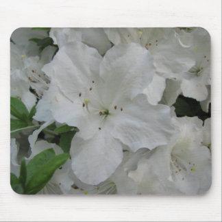 White Azalea Mousepad