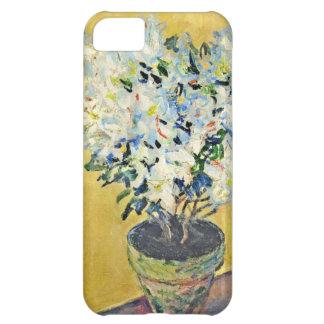 White Azaleas in a Pot -  Claude Monet iPhone 5C Cover
