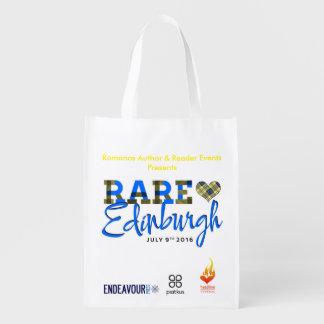 white, bag, rare16, rare reusable grocery bag