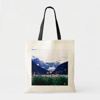 White Banff National Park, Lake Louise flowers Tote Bag