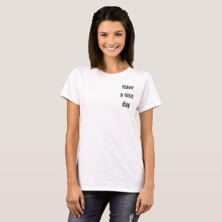 White basic rower T-Shirt