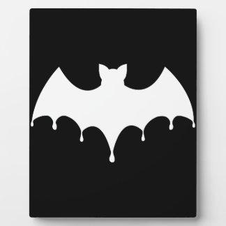 White Bat Plaque