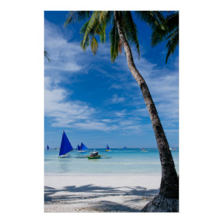 White Beach | Boracay, Philippines Poster