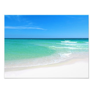 White Beach Photography Photo Print