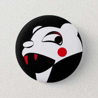 White Bear 2 Inch Round Button