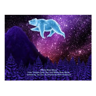 White Bear Moon Postcard