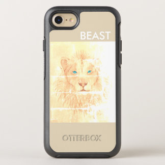White BEAST/Leão layer for iPhone