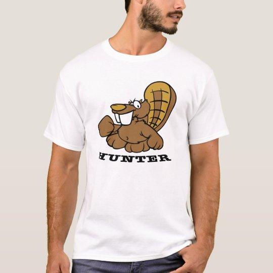 White Beaver Hunter T-Shirt
