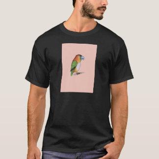 white bellied caique.tif T-Shirt