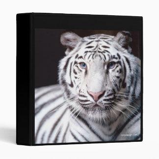 White Bengal Tiger Binder