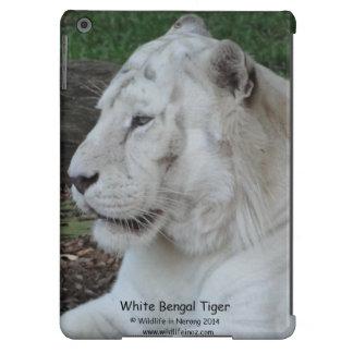 White Bengal Tiger iPad Air Case