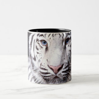 White Bengal Tiger Photography Mugs