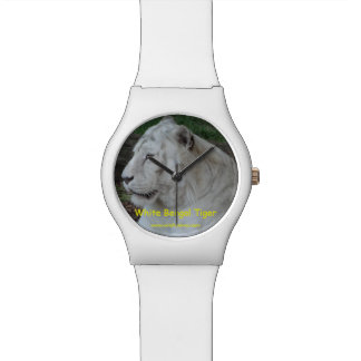 White Bengal Tiger Watch