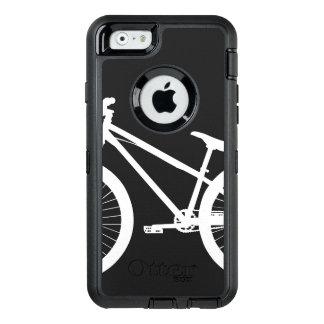 White Bike Silhouette Custom Color OtterBox iPhone 6/6s Case