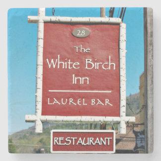 White Birch Inn, Clayton, Georgia, Coasters Stone Beverage Coaster