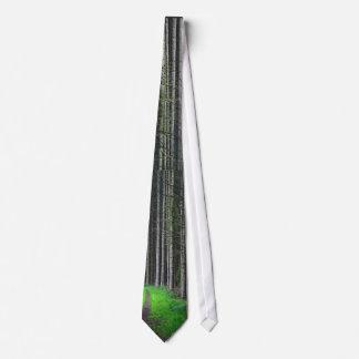 White Birches Tie