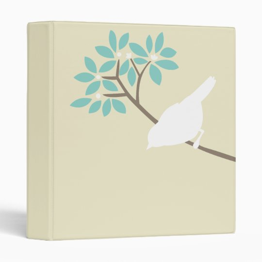 White Bird Custom Binder
