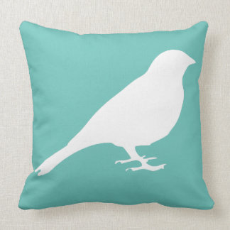White Bird Pillow