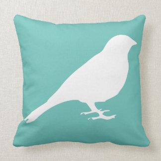 White Bird Pillow