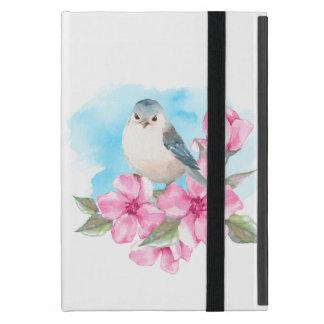 White bird. Watercolor spring iPad Mini Case